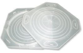 """8"""" (200mm) Clear Clamshell Single Wafer Shippers-0"""