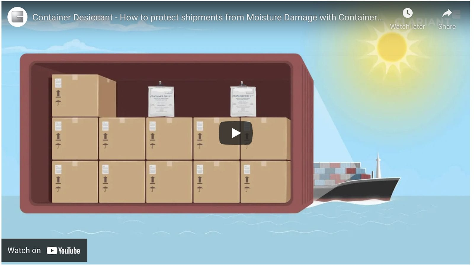 Protect Your Cargo with Container Dri II