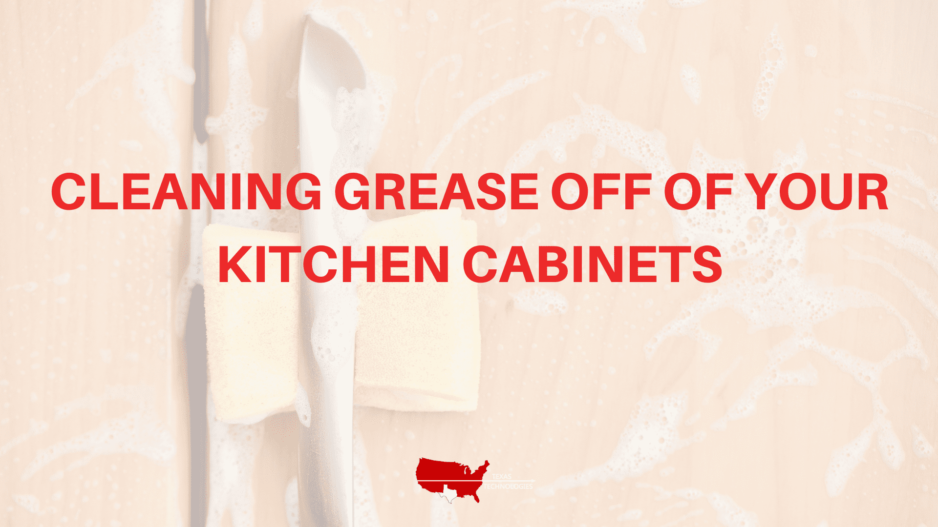 Cleaning Grease off of Your Kitchen Cabinets