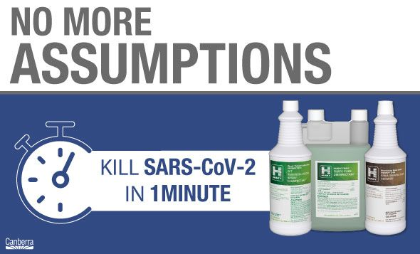 Kill Covid-19 in One Minute With These Disinfectants
